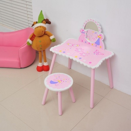 Lasten peilipöytä