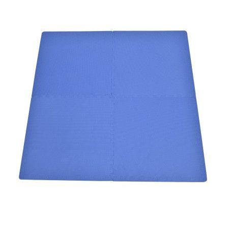 8-osainen palapeli suojamatto EVA (sininen)