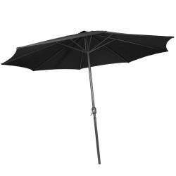 Musta Aurinkovarjo 250cm