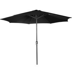 Musta Aurinkovarjo 300cm