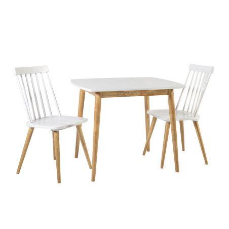 SIMPLE ruokailuryhmä, pöytä & 2 tuolia