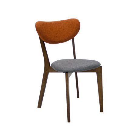 Oranssi LUXY ruokailuryhmä, pöytä & 4 tuolia