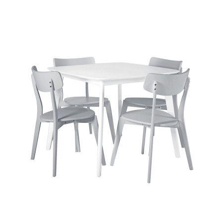 BALLOON ruokailuryhmä, pöytä & 4 tuolia