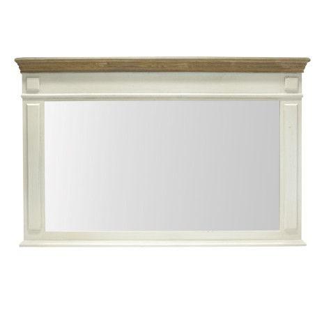 SAMIRA seinäpeili 107x70cm, valkoinen