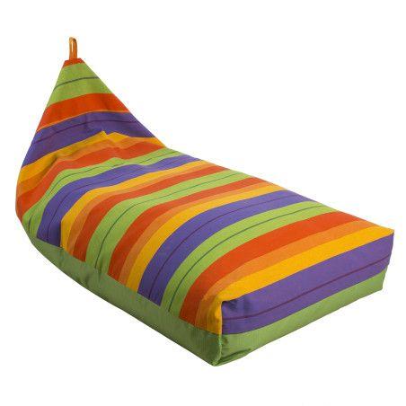 SALVADOR säkkituoli 130cm, värikäs