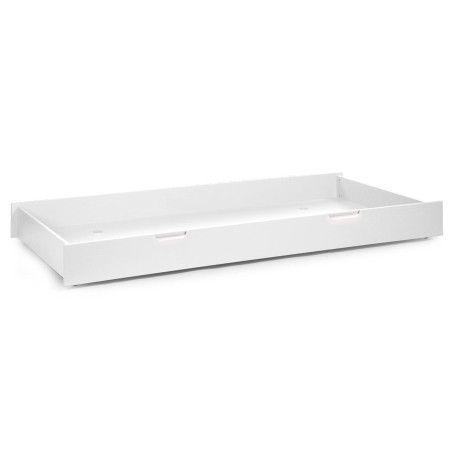 Quadro White -säilytyslaatikko lastensänkyyn