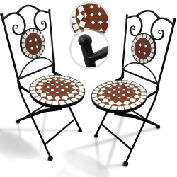Mosaiikki Puutarhatuolit 2kpl