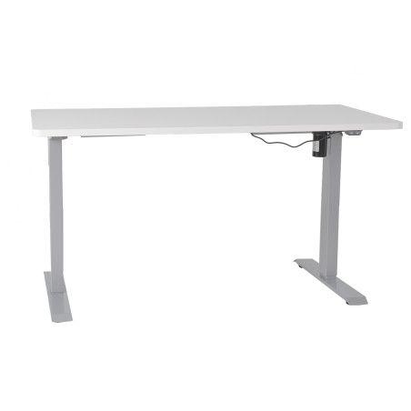 Sähköpöytä, valkoinen