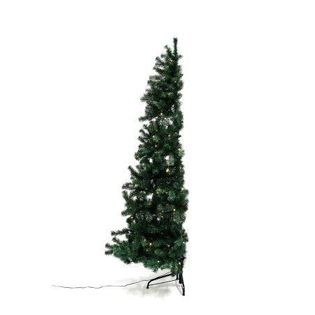 Joulukuusi, puolikas, 180 x 118 cm valoilla