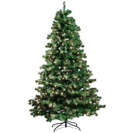 Joulukuusi 210 x 138 cm, LED -valoilla