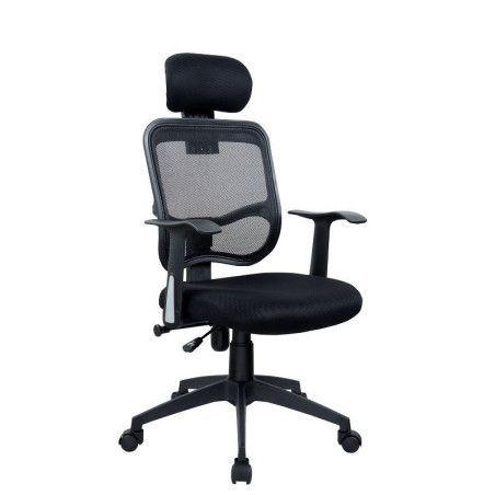 Työtuoli Full Mesh musta verkkotuoli ergonominen ja varusteltu, tyylikäs työtuoli tarjous hinta 574€ sis. alv.