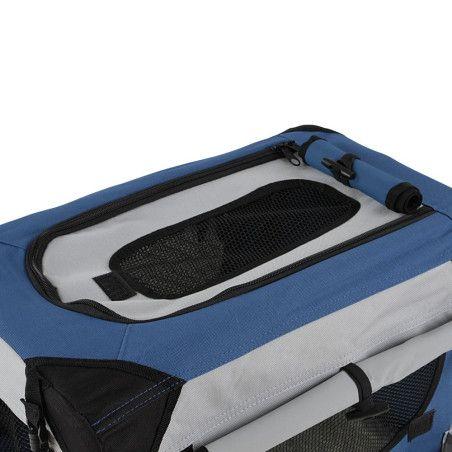Koiran kuljetuslaatikko, Koot S-XL
