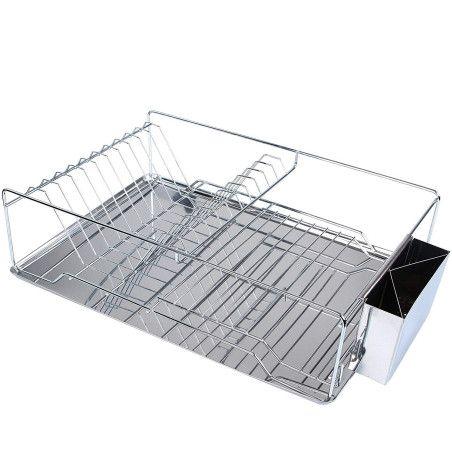 Kuivausteline astioille ja ruokailuvälineille