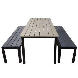 RUSKA pöytä 205cm + EILA...