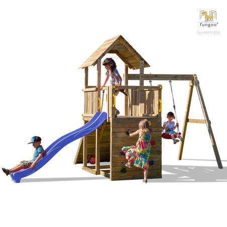 Fungoo Carol 3 leikkikeskus, eri värejä