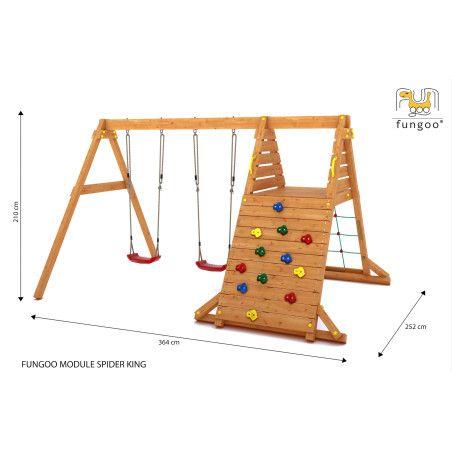 Fungoo Spider King leikkikeskus