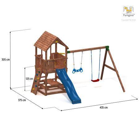 Fungoo leikkikeskus yhdistelmä