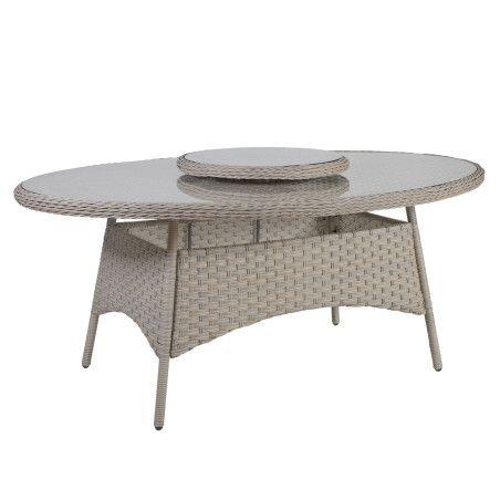 Pöytä PACIFIC Tarjoilualustalla