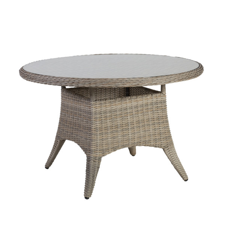 Pöytä PACIFIC 120x75cm, Pyöreä