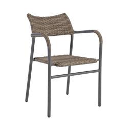 BISTRO 3 puutarhatuoli, ruskea