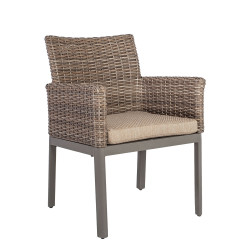 ADMIRAL puutarhatuoli, ruskea