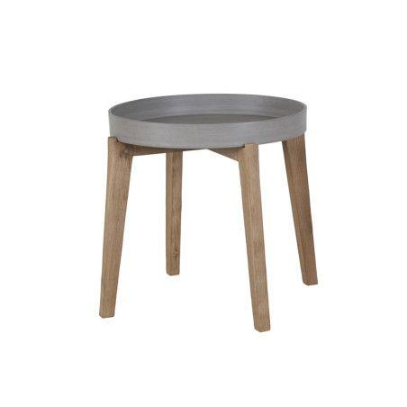 SANDSTONE pyöreä apupöytä 61x50cm