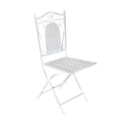 GRETA puutarhatuoli, valkoinen