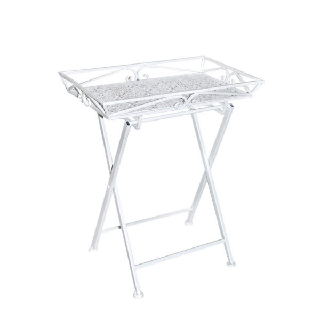 GRETA tarjoilupöytä, valkoinen