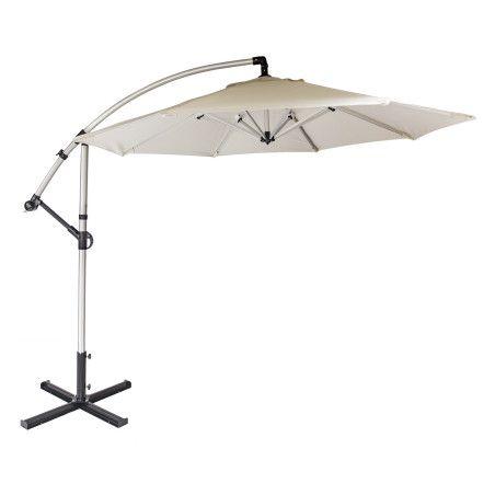 CAPRI 3m aurinkovarjo, valkoinen