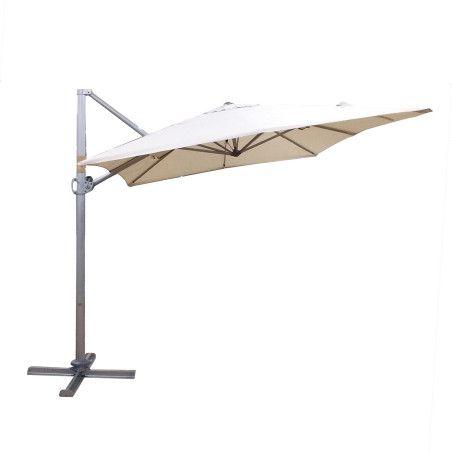 ROMA aurinkovarjo 3x2,4m, valkoinen
