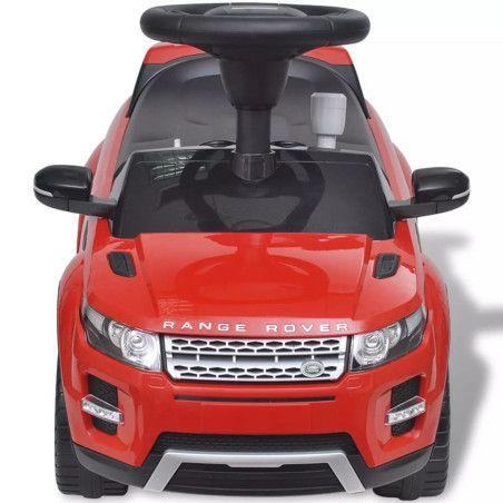 Land Rover 348 Lasten Istuttava Auto Musiikilla Punainen