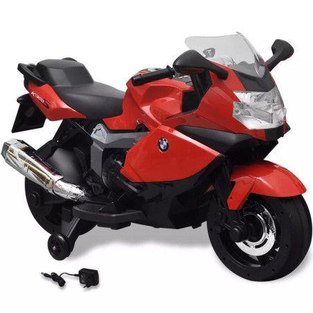 BMW 283 Sähköinen Moottoripyörä Lapsille Punainen 6 V