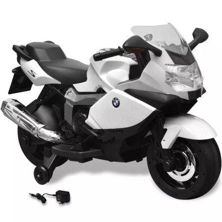BMW 283 Sähköinen Moottoripyörä Lapsille Valkoinen 6 V