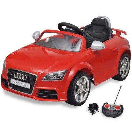 Audi TT RS Istuttava Auto Lapsille Kauko-ohjaimella Punainen