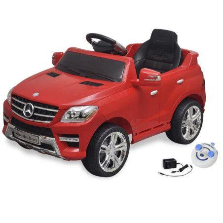Sähköinen Istuttava-auto Mercedes Benz ML350 Punainen 6V Kauko-ohjaus