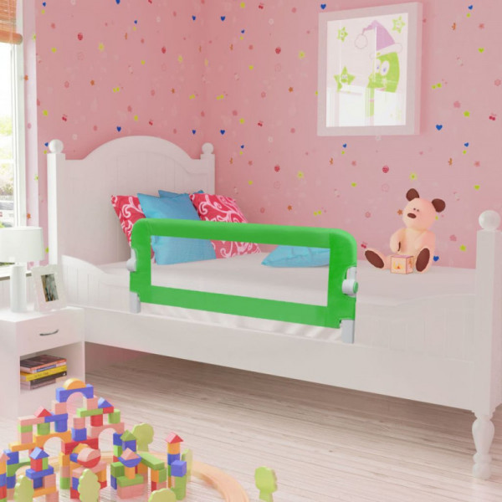 Turvalaita lapsen sänkyyn 102 x 42 cm vihreä