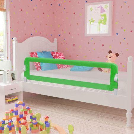 Turvalaita lapsen sänkyyn 150 x 42 cm vihreä