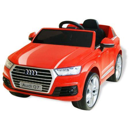 Sähkökäyttöinen ajettava auto Audi Q7 Punainen 6V