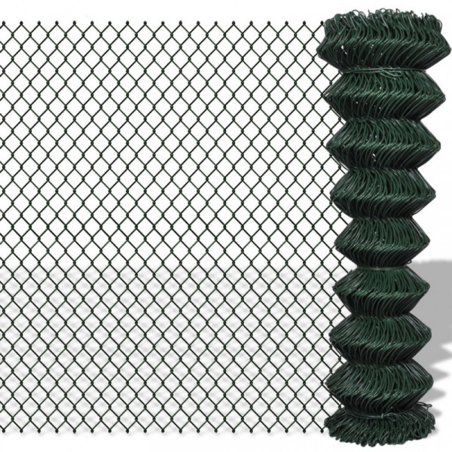 Verkkoaita galvanoitu teräs 1,5x15 m vihreä