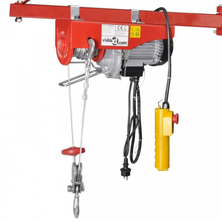 Sähkö-nosturi 500 W 100/200 kg
