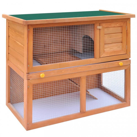 Kaninkoppi/pieneläinten ulkohäkki 1 ovi puu