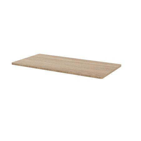 Sähköpöydän pöytälevy 140 x 70cm Tammi