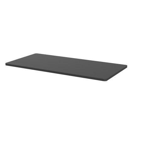 Sähköpöydän pöytälevy 140 x 70cm Musta