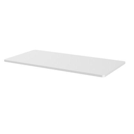 Sähköpöydän pöytälevy 160 x 80cm Valkoinen