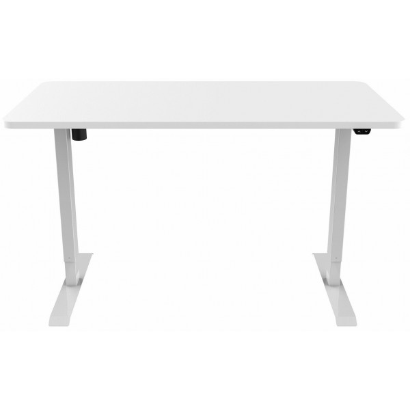 Sähköpöytä 160 x 80cm Valkoinen