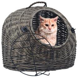 Kissan kuljetuskori harmaa...