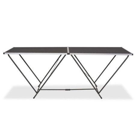 Taittuva tapetointipöytä MDF ja alumiini 200x60x78 cm