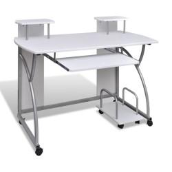 Valkoinen Tietokonepöytä...