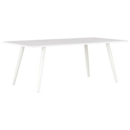Sohvapöytä valkoinen 120x60x46 cm