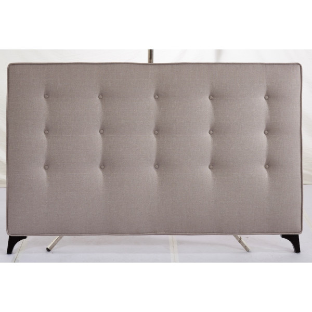Sängynpääty 170x111cm, kangasverhoilu, beige
